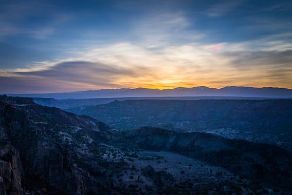 Photography, white rock canyon, new mexico, sangre de christo mountains, dawn, nature, rio grande rift