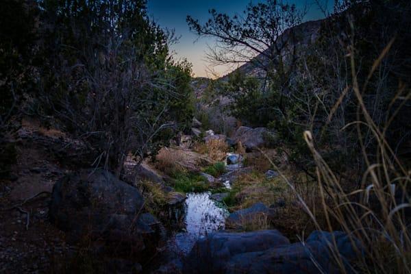 Photography, dusk, landscape, pajarito springs, white rock canyon, new mexico, nature