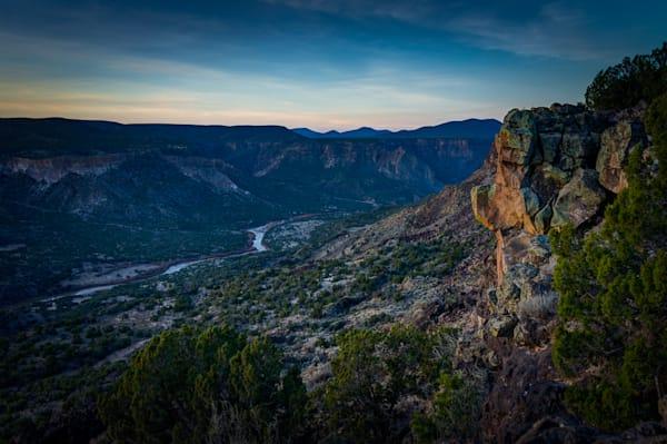 Photography, landscape, white rock canyon, new mexico, dawn, nature, rio grande, red dot trail