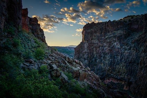 Diablo Canyon, Photography, new mexico, sunset, landscape, southwest, santa fe, buckman road