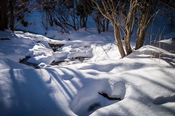 Photography, snow, sangre de christo mountains, santa fe, new mexico, landscape, tesuque creek, late afternoon