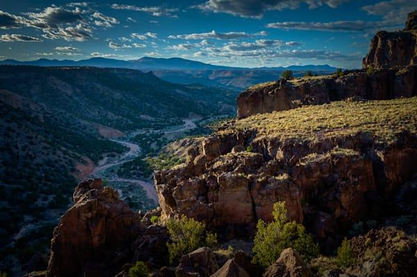 Diablo Canyon, Photography, landscape, new mexico, santa fe, sunset, southwest