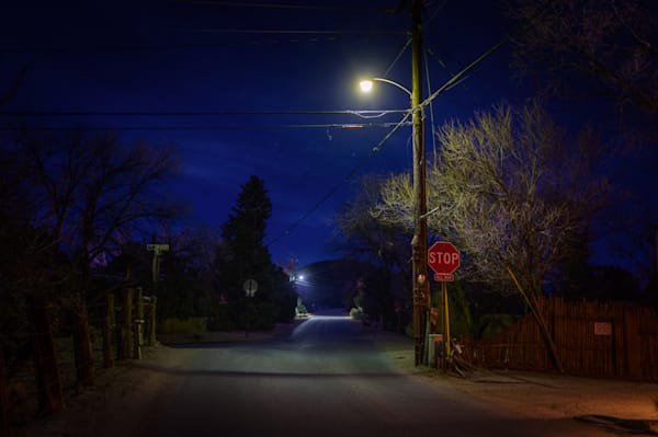 photography, new mexico, santa fe, nocturne, nightscape, landscape