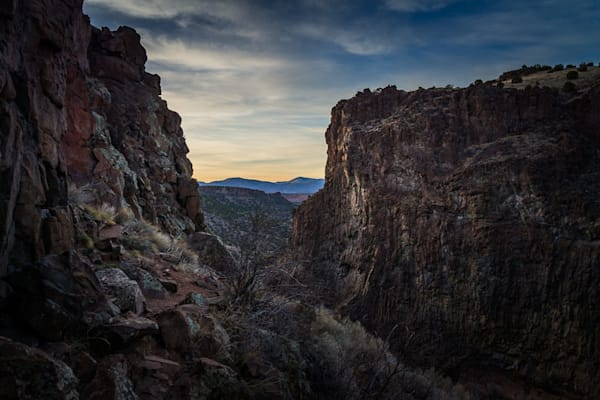Diablo Canyon, Photography, landscape, dusk, new mexico, santa fe, southwest