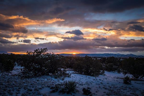 Sunset After Snow Art | jonathankeeton