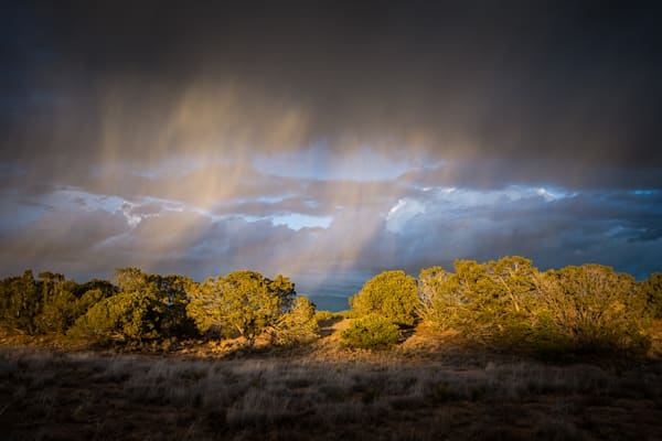 Photography, sunset, landscape, new mexico, santa fe, nature, rainclouds