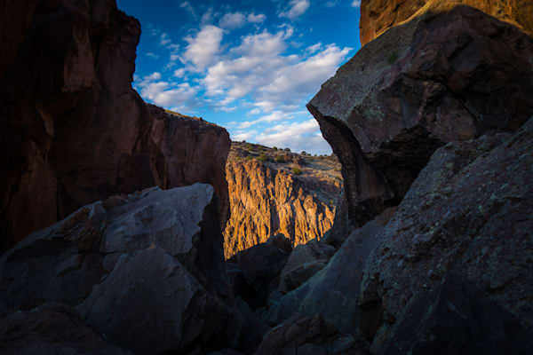 Diablo Canyon, Photography, the grotto, new mexico, rocks, landscape, nature, sunset, basalt