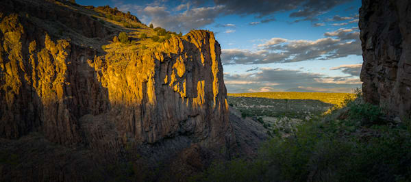 Diablo Canyon, Photography, Diablo Canyon, Sunset, Landscape, Santa Fe, New Mexico, panorama