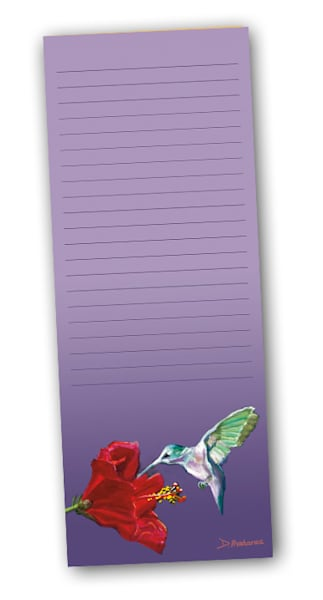 Hummingbird Notepad | Southwest Art Gallery Tucson