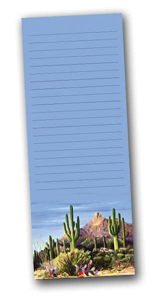 First Light Notepad | Southwest Art Gallery Tucson