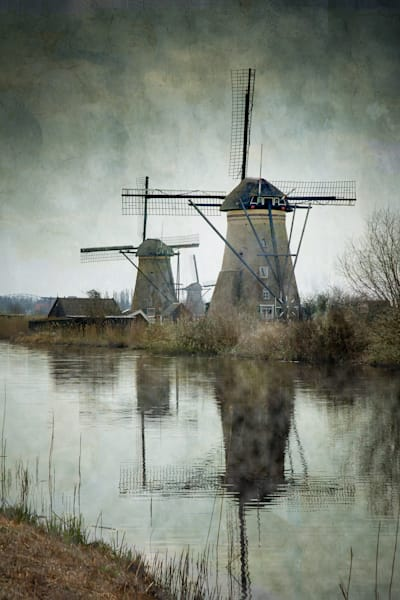 Vincent DiLeo,  Windmills of Holland art prints for sale.