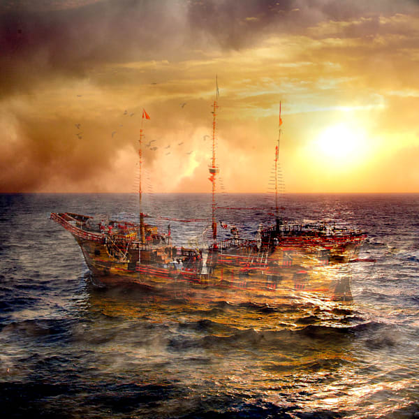 Ghost Ship, Tall Ship, Cabo San Lucas, Mexico