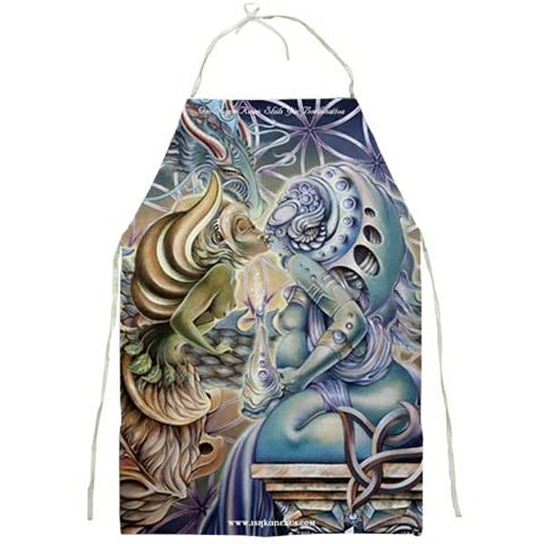 The Kiss of Motherpeace - Apron
