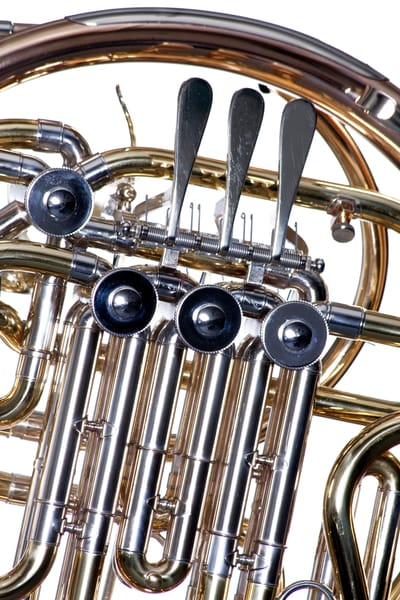 French Horn Rotors Metal Print 2079. 12