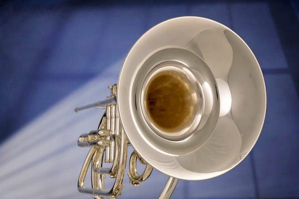 Marching French Horn Wall Art 2079. 15