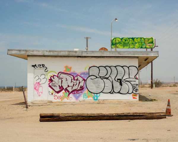 Salton Sea Graffiti Wall