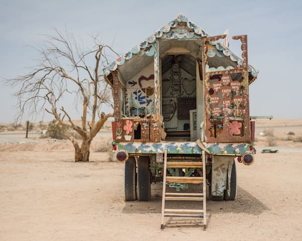 Salvation Mountain Camper