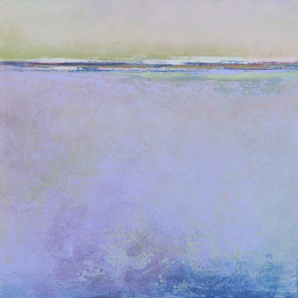 Lilac Secrets | Purple Wall Art | Seascape Painting
