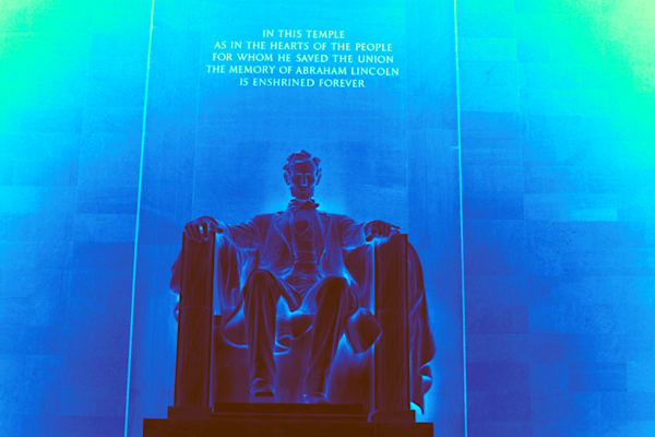 Abraham Lincoln Memorial Art | toddbreitling