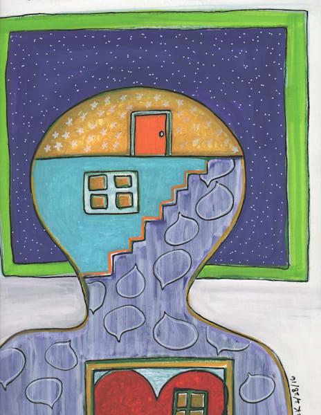 Head Heart Conversation Art | laineek