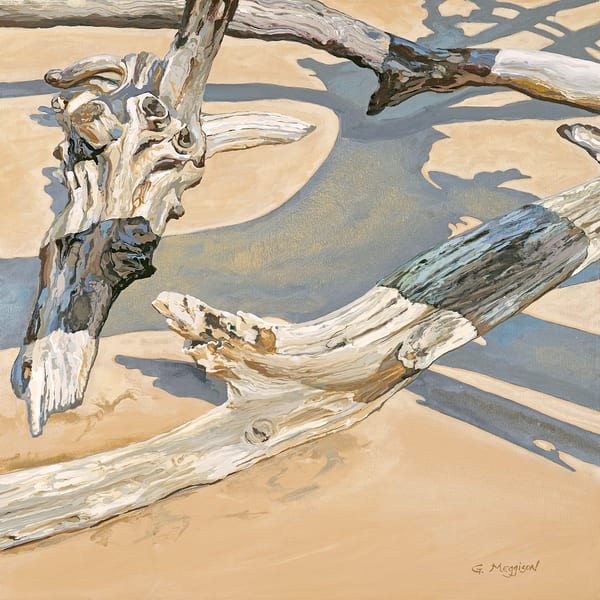 Water, Wind, Wood 4 | Contemporary Landscapes | Gordon Meggison IV