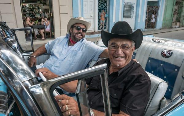 Eliades Ochoa and Raul Malo