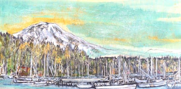 Gig Harbor with Mt. Rainier