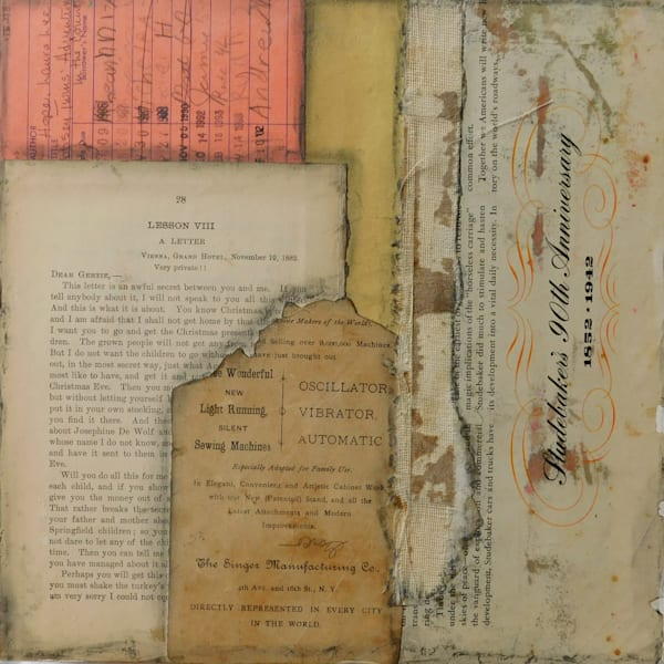 Letter, Lesson, Card, Sewing