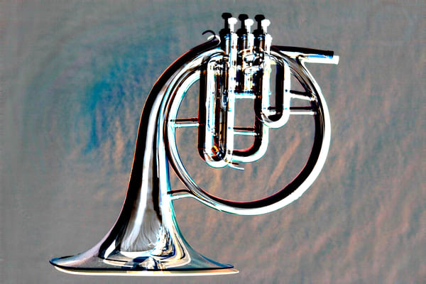 Classic French Horn Embossed 2082.27