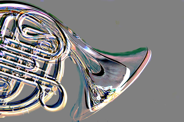 French Horn body Embossed 2082.35