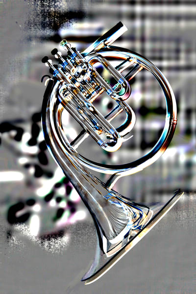 French Horn Embossed Classic 2082.30