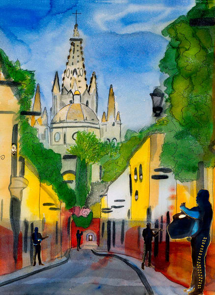 Aldama Mariachi Kirk Art | William K. Stidham - heART Art