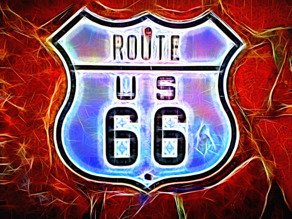 Route US 66 Flagstaff Arizona|Abstract Photography by Todd Breitling|
