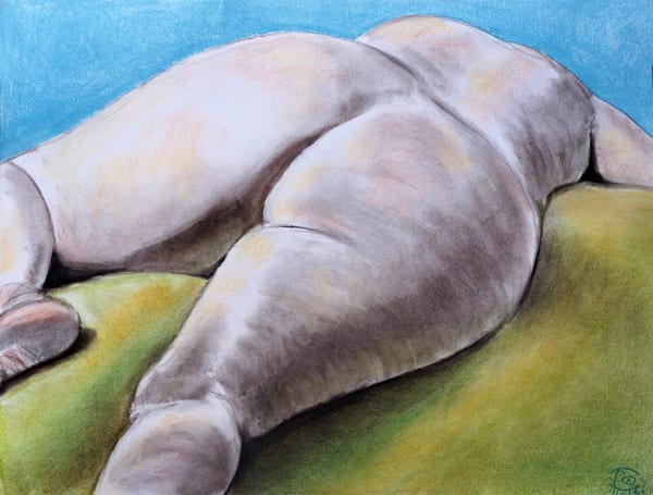 Sunbathe - Fine Prints  by Irina Malkmus for sale. Available on Paper, Canvas, Metal, any size, any frame