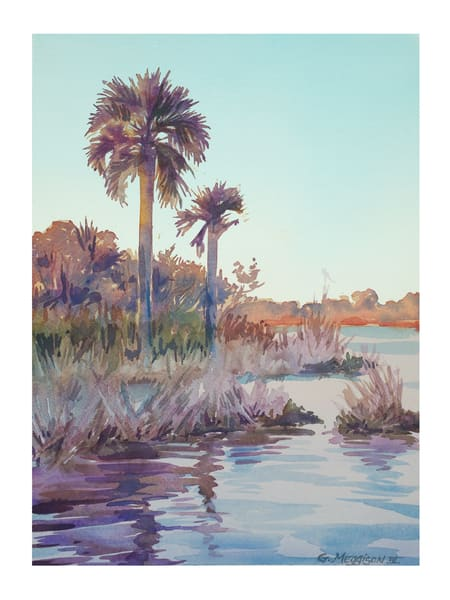 Sunrise at Guana | Watercolor Landscapes | Gordon Meggison IV