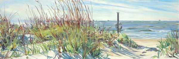 Beach Path / Print Art | Crystal Moll Gallery