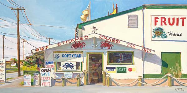 Maryland Shore Town Prints