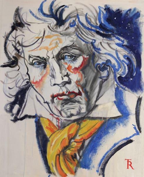 Study For Beethoven Art | Tomasz Rut Fine Art, LLC