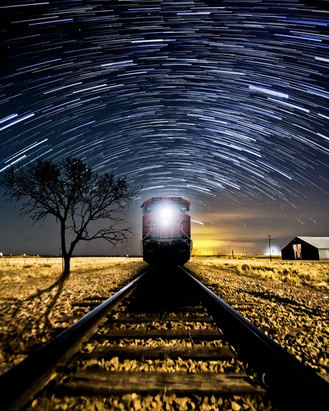 Texas Train by Jim Livingston