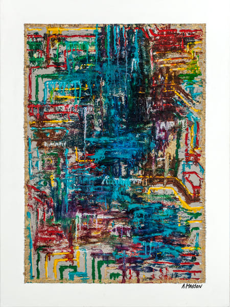 """""""A River Runs Through It"""" 36x48 . $2,400"""