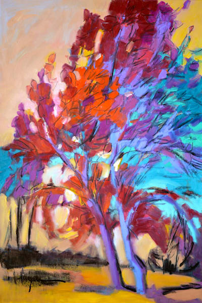 Fall Palette Artwork Canvas Prints for Healing Colors by Dorothy Fagan