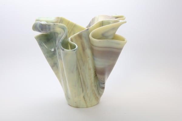 0007 Alabaster Vase Art | Midamericanartisans