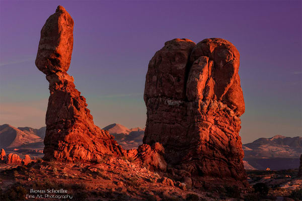 Balanced Rock Arches National Park/Fine Art photography large format print media