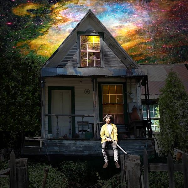A spooky house, surreal art, Unique images by Vincent DiLeo