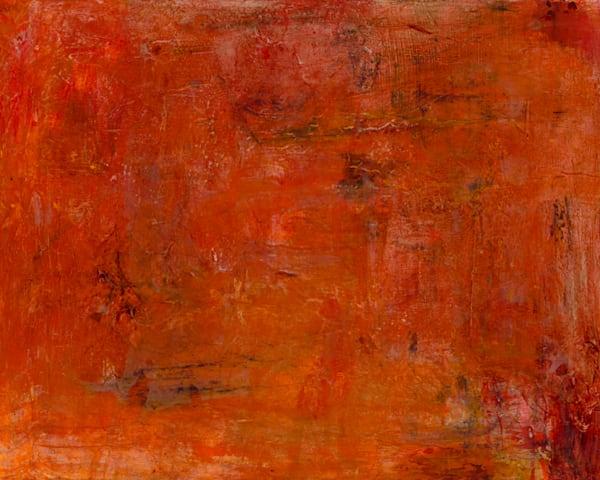 Tangerine Triumph Art | Amy Cannady Studio