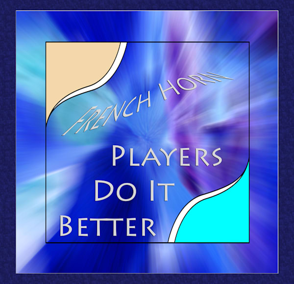 French Horn Poster 2487.45 Players Do It Better