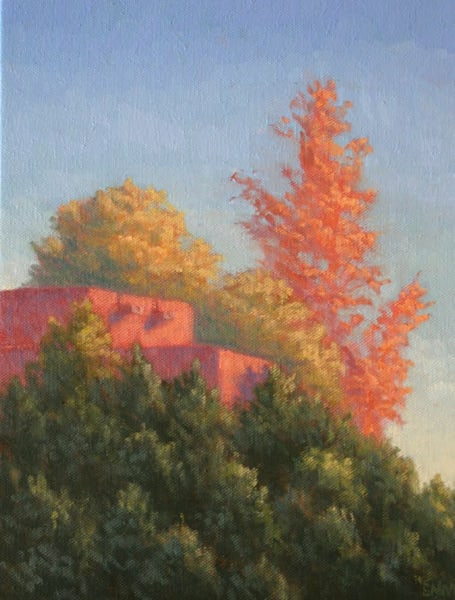 New Mexico Landscape painting