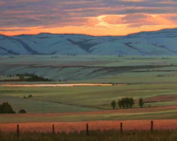 Western Prairie Sunset   Art | Terry Sauve Fine Art