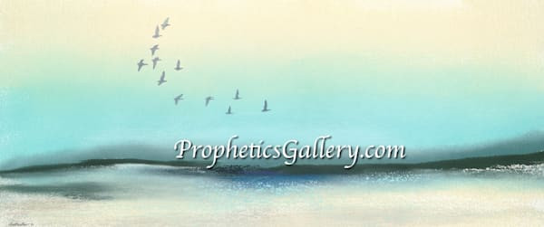 """""""Wings Of The Morning"""" by David Costello   Prophetics Gallery"""