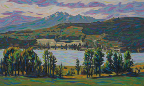 Round lake Afternoon, Sherry Nielsen, Smithers BC